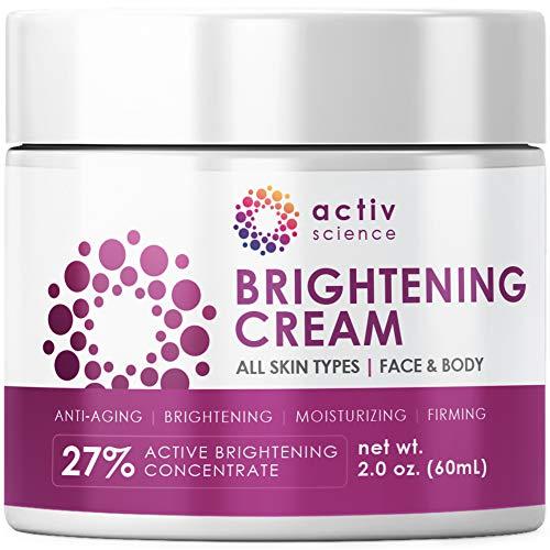 51PIE1KKOIL - ACTIVSCIENCE Whitening Cream - Powerful Skin Lightening Cream for Face & Body. Dark Spot, Melasma & Hyperpigmentation Treatment. 2 fl oz.