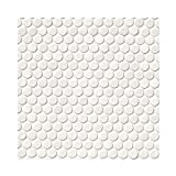 WHITE PENNY ROUND 6 in. X 36 in. 20 Pieces Per Box