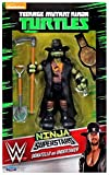 Teenage Mutant Ninja Turtles Nickelodeon WWE Superstars Donatello as Undertaker Exclusive Action Figure