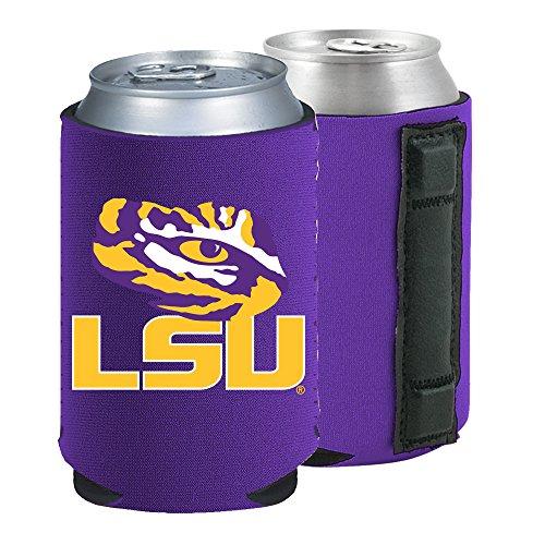 Ncaa Lsu Tigers Mugs - Magnetic Kolder Kaddy NCAA Can Cooler Coolie, One Piece (LSU Tigers)