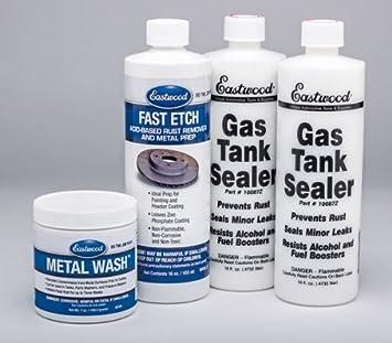 Eastwood 10165Z Gas Tank Sealer Kit: Amazon com au: Automotive