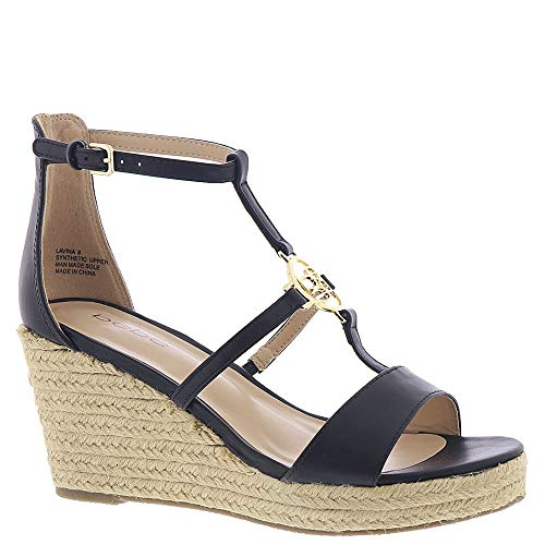 bebe Lavina Women's Sandal 8.5 B(M) US Black from bebe