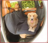 Cheap Majestic Black Hammock Dog Car Seat Cover Waterproof Non Slip Rear Bench Seat Protector Universal Auto Back Seat Covers Child Baby & Infant Mat Pet Travel Accessories Stain Protection for Cars & SUV