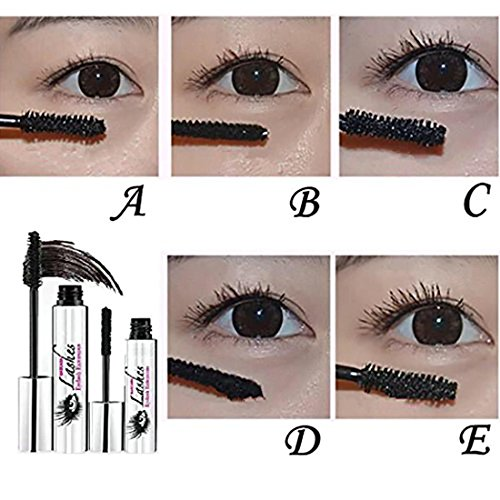 Amazon.com : Iusun 4D Mascara Cream Waterproof Makeup LashCold Mascara Eyelash Extension Eye Black Crazy-long Style Washable Mascara (Black) : Sports & ...