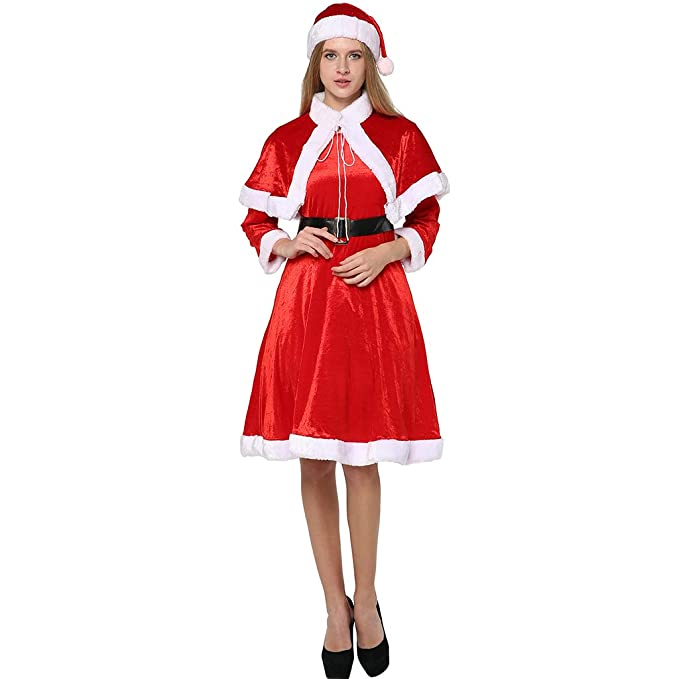 EraSpooky Mujer Adulto Santa Papá Noel Navidad Novedad ...