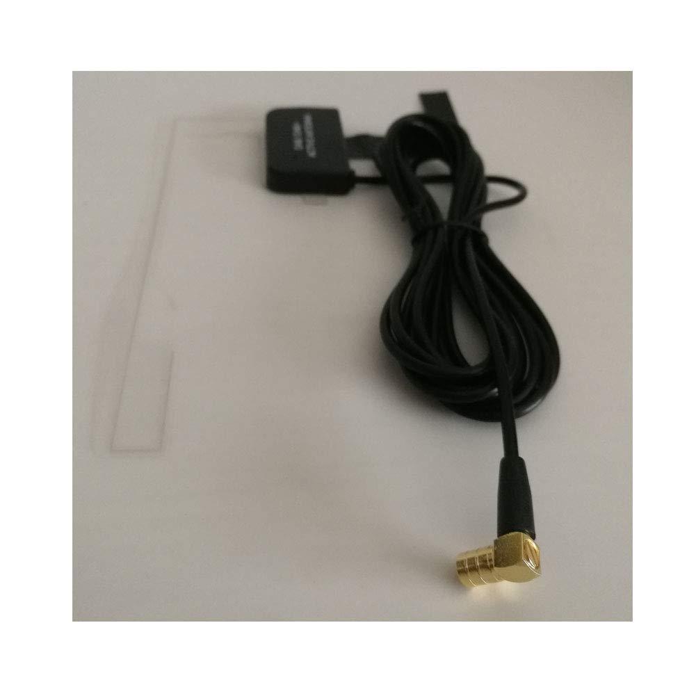 avec connecteur MCX pour Pare-Brise en Verre int/égr/é Compatible pour autoradio num/érique Dab Dab Moli Smart Antenne Dab