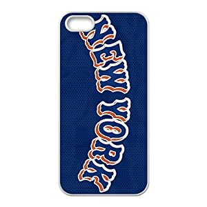 QQQO new york mets Hot sale Phone Case for iPhone 5S