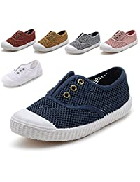 KaMiao Toddler Slip-on Sneakers Breathable Quick-Dry Water Sandals Shoes