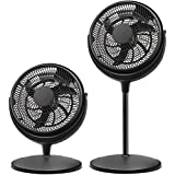 Brentwood Kool Zone 2-in-1 Air Circulator Fan 12 3Speed F-1221B