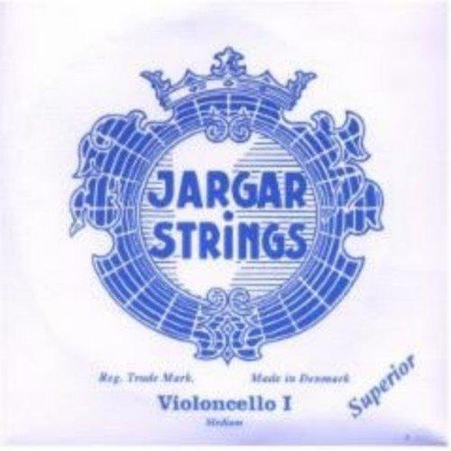 A Jargar CUERDA VIOLONCELLO La 1/ª Medium Cello 4//4 Cromo Superior Una Unidad