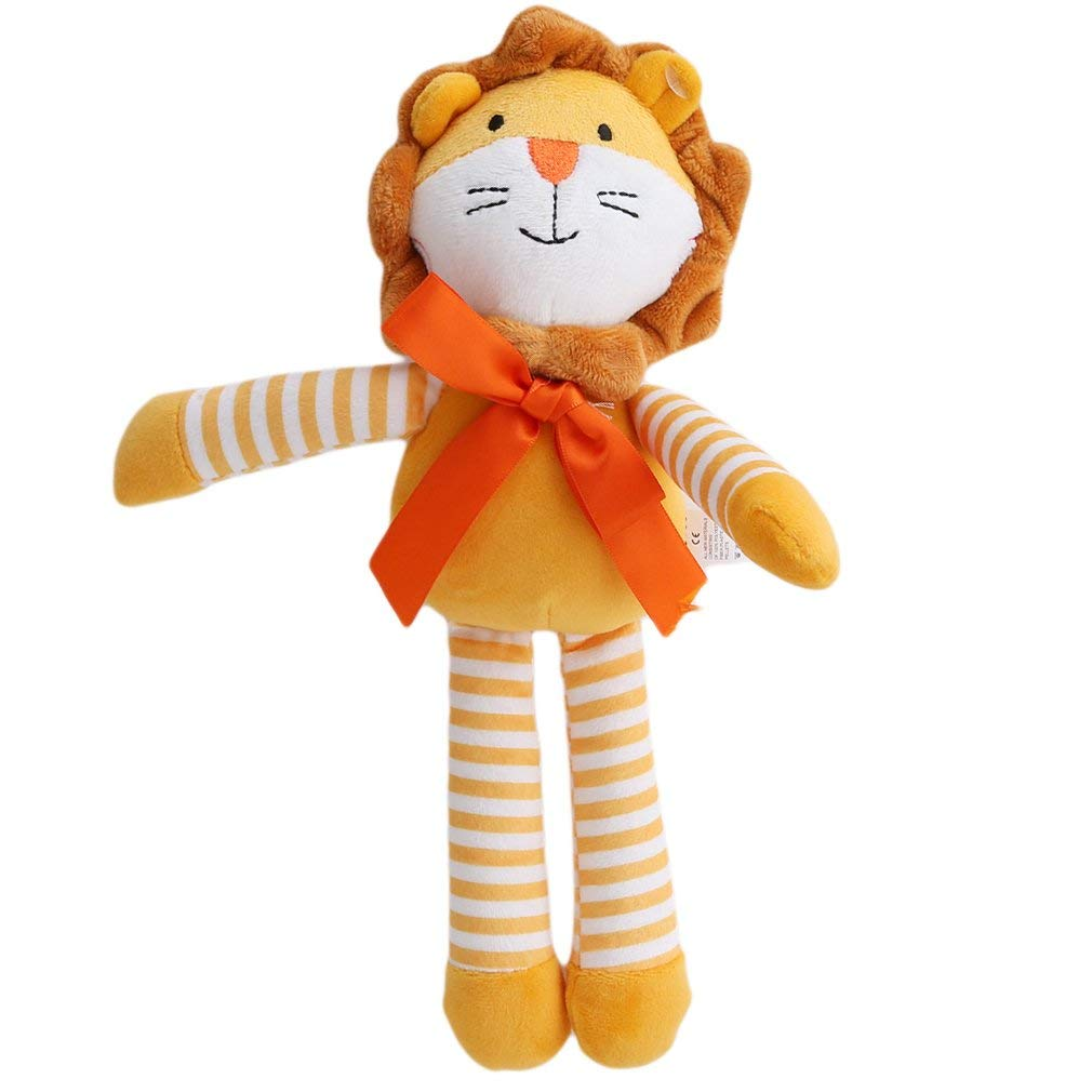 Premium Cute Cartoon Animal Soft Doll Kids Baby Sleeping Comfort Toy Gifts lion