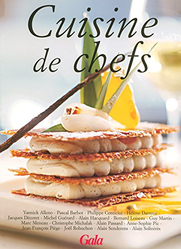Cuisine de chefs ebook