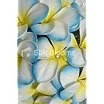 Artificial-Aqua-White-Frangipani-Plumeria-Bridal-Wedding-Bouquet