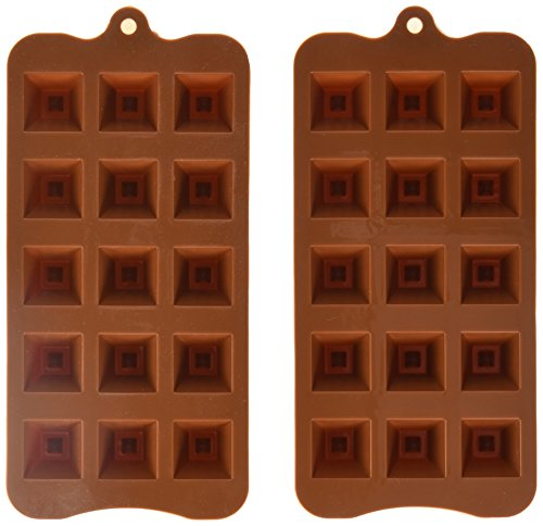 Sorbus Silicone Pyramid Dimple Baking