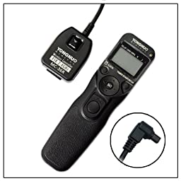 YONGNUO MC-36R/C3 Wireless Timer Remote for CANON 5D II 7D 1D IV 50D 40D 30D 20D