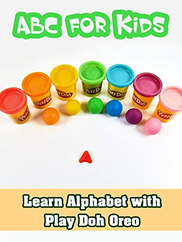 Learn Alphabet with Play Doh Oreo - ABC for Kids
