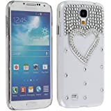 Generic Case Cell Phone Case for Samsung Galaxy S4 S IV i9500 3D - Non-Retail Packaging - White