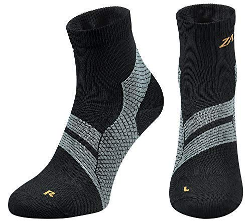 ZaTech Plantar Fasciitis Sock, Compression Socks for Men & Women. Heel, Ankle & Arch Support....