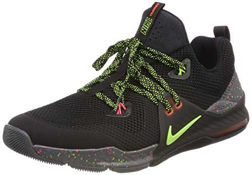 Nike Men's Zoom Train Command Fitness Shoes, Black-Black-Volt-Dark GRE Black (Black/Volt/Dark Grey/Black)