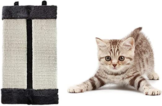 Almohadilla rascadora para Pared/Suelo/Esquina, para Gatos, Mascotas, Muebles, Alfombrilla de rascador, Grande, Vertical, Plegable, para Colgar y arañar: Amazon.es: Productos para mascotas