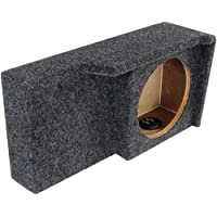 Bbox A371-10CP Single 10 Sealed Carpeted Subwoofer Enclosure - Fits 2004 - 2008 Ford F150 Super Crew / Super Cab