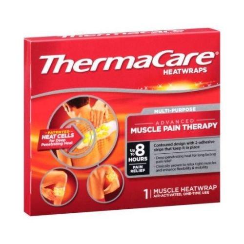ThermaCare Multi Purpose Muscle Heat Wraps -- 36 per case.