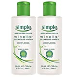 simple Simple Micellar Cleansing Water, 6.7 Ounce (2 Pack)