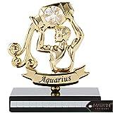 Matashi 24K Gold Plated Zodiac Astrological Sign