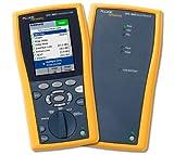 Fluke Networks DTX-1800-MSO 120-GLD DTX-1800 Kit with DTX-MFM2 Multimode & DTX-SFM2 Single-mode Fiber Modules, & DTX-OTDR-QMOD Compact OTDR Module and 1 Yr. of Gold Support