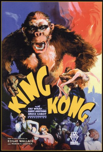 KING KONG Movie Poster  24x36 inches