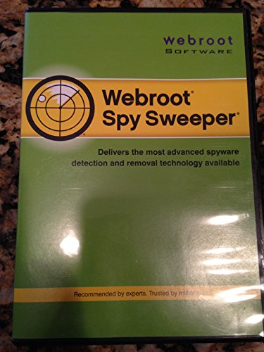 Webroot Spy Sweeper Visionguard Spyware Software