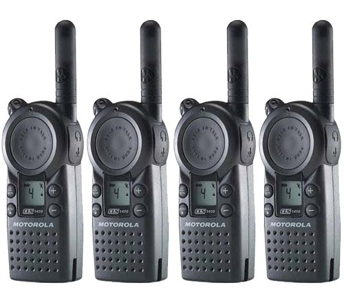Motorola CLS1410 UHF Frequency Professional Two Way Radio (4-Pack)