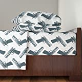 Roostery Movie 4pc Sheet Set They Made Me A Killer by Louisehenderson King Sheet Set made with
