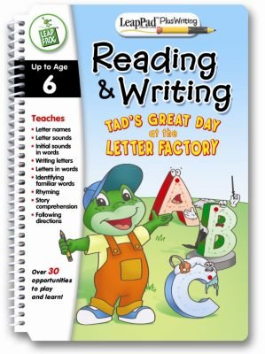 LeapPad Plus Writing: Pre-Kindergarten Book - Reading by LeapFrog Toys (Image #1)