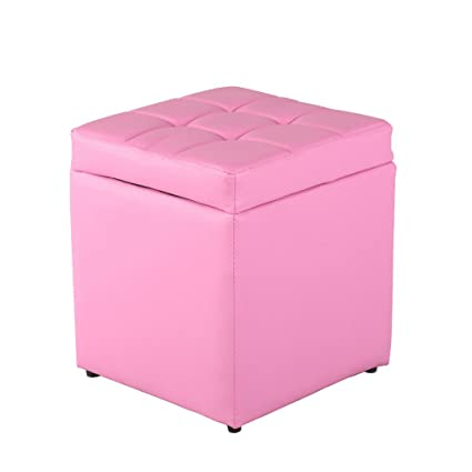uusshop asiento caja de almacenamiento Otomano reposapiés reposapiés ...