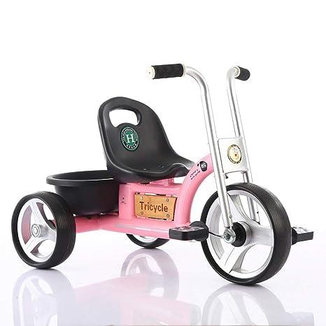 Bicicleta de triciclo para niños de 1 a 5 años Niño triciclo ligero Coche de pedales