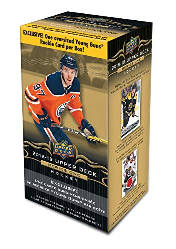 2018-19 Upper Deck Cards - Series 1 Hockey Value Box