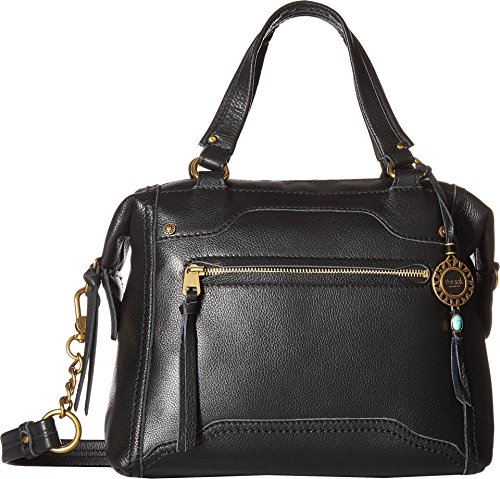 The Sak Collective Tahoe Satchel Bag, Black (Handbag Leather Bowler)