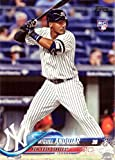 #2: 2018 Topps Baseball #305 Miguel Andujar Rookie Card - His 1st Official Rookie Card