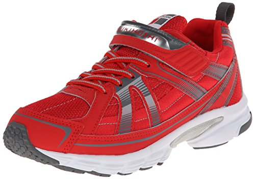 Tsukihoshi Youth 70 Sneaker , Red/Gray, 3 M US Little Kid