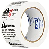 "Uline 2"" x 2"" Suffocation Warning Peel & Stick Labels (S-8329)"