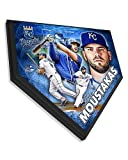 Mike Moustakas Collectible Home Plate Baseball Plaque - 11.5 x 11.5 Photo - Licensed MLB Baseball Collectible
