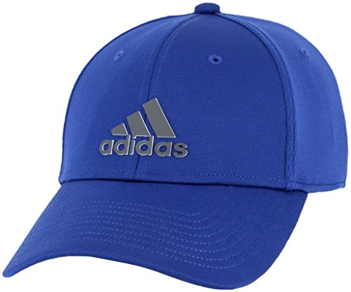 adidas Men's Franchise Structured Stretch Fit Cap, collegiate royal/Onix, S/M