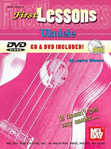 First Lessons: Ukulele (Book + CD & DVD) by Jerry Moore (2005-06-01) (Maria Dvd Moore)