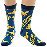 Official Pikachu Pokemon Crew Socks