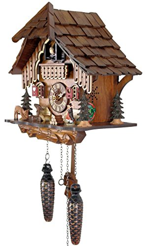 Adolf Herr Quartz Cuckoo Clock - Black Forest House