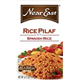 Near East Rice Pilaf Mix, Spanish Rice (Pack of 12 Boxes) by Near East