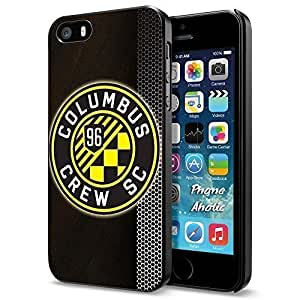 Soccer MLS Columbus Crew SC LOGO SOCCER FOOTBALL, Cool iPhone 6 plus 5.5 Smartphone Case Cover Collector iphone Black