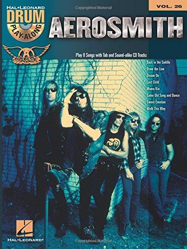 Aerosmith: Drum Play-Along Volume 26