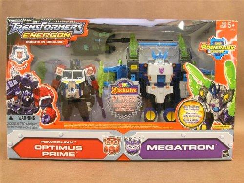Transformers Energon OPTIMUS PRIME Powerlinx + MEGATRON ~